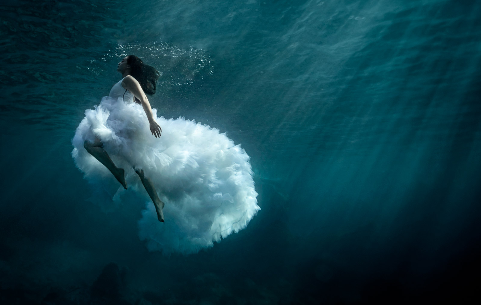photo mariage underwater